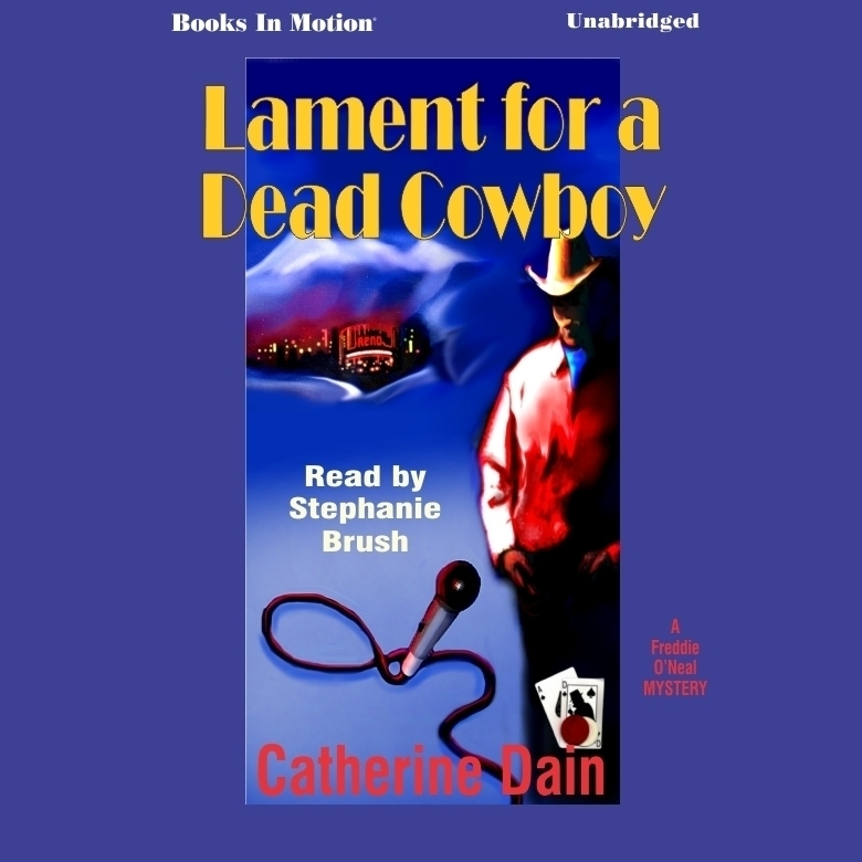 Printable Lament for a Dead Cowboy Audiobook Cover Art