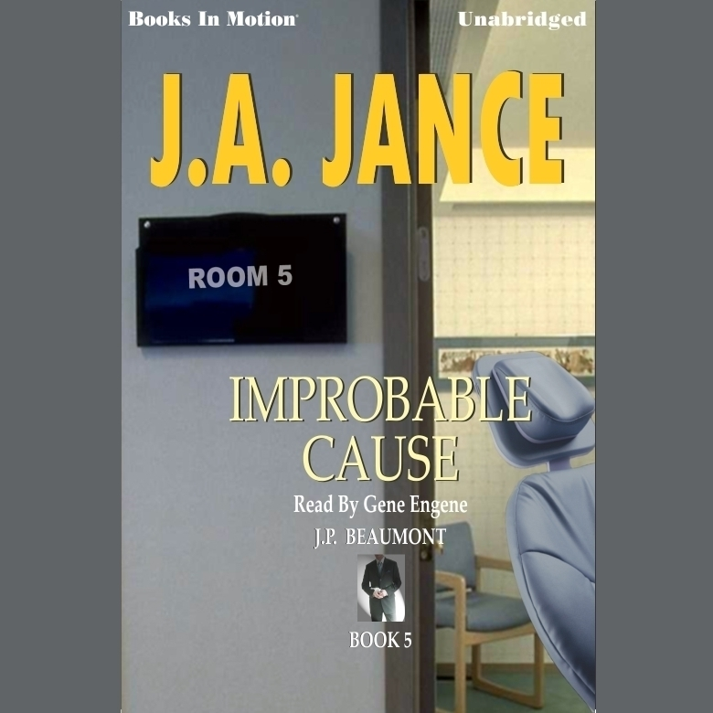 Printable Improbable Cause Audiobook Cover Art