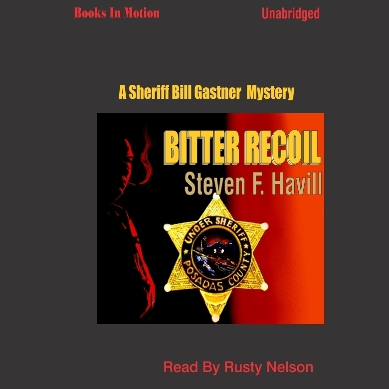 Printable Bitter Recoil Audiobook Cover Art