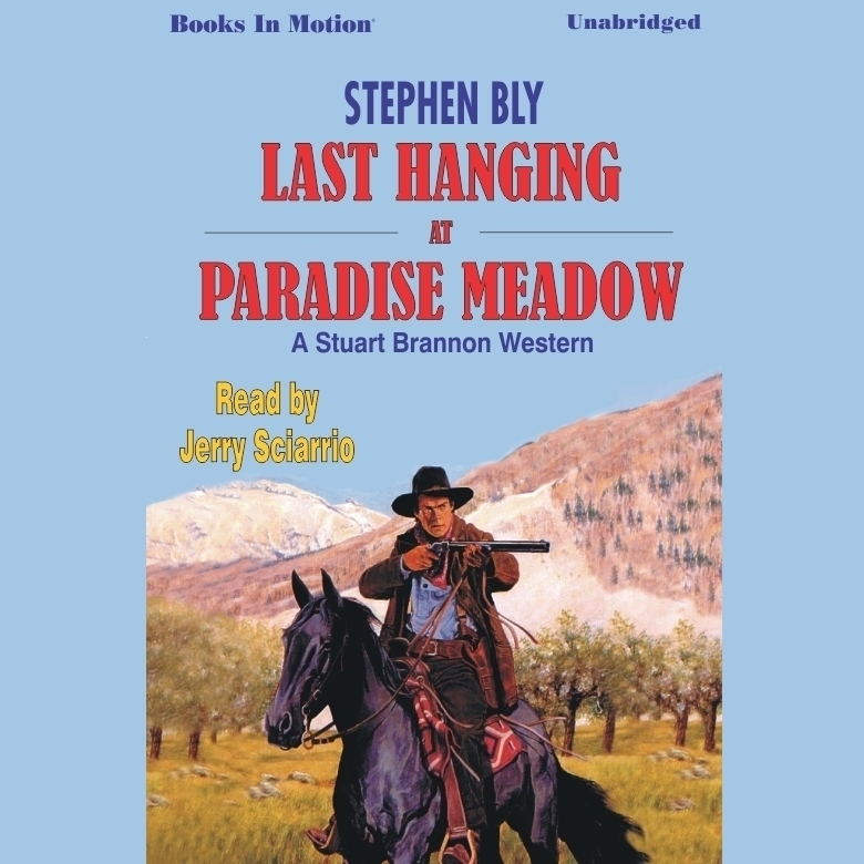 Printable Last Hanging at Paradise Meadow Audiobook Cover Art