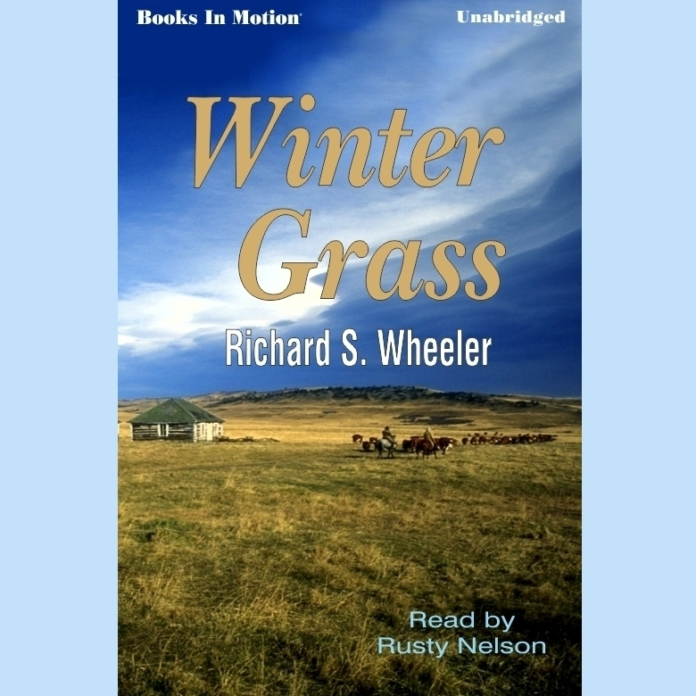 Printable Winter Grass Audiobook Cover Art