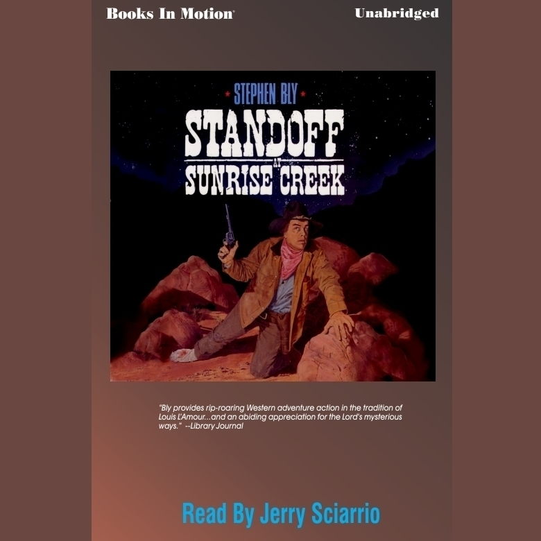 Printable Standoff at Sunrise Creek Audiobook Cover Art