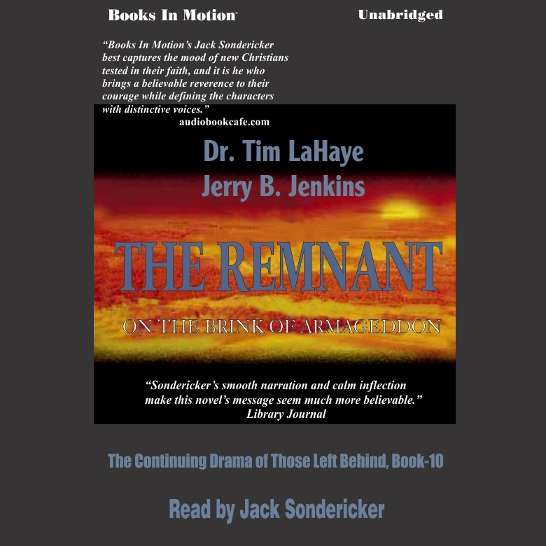 Printable The Remnant Audiobook Cover Art