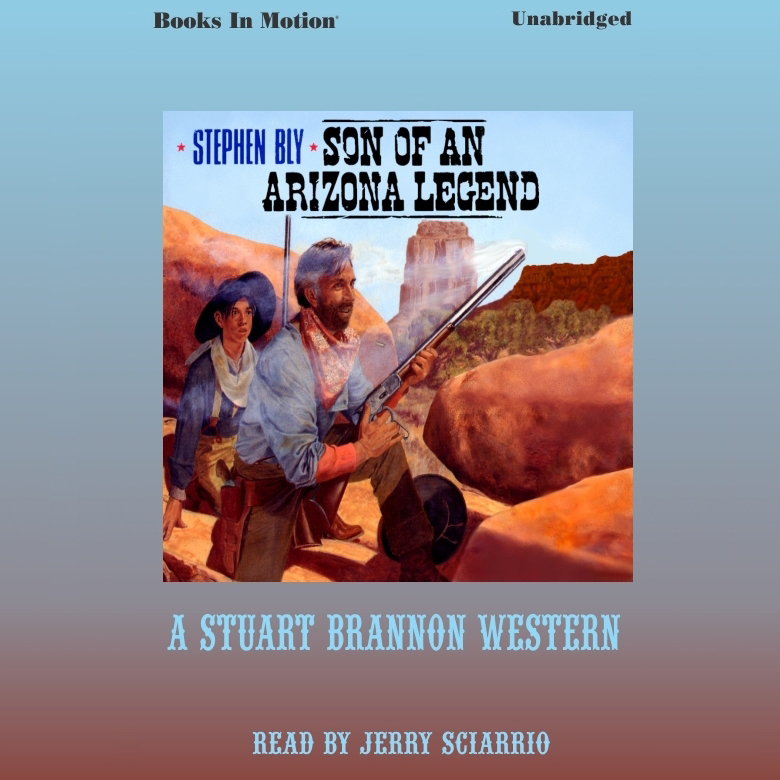 Printable Son of an Arizona Legend Audiobook Cover Art