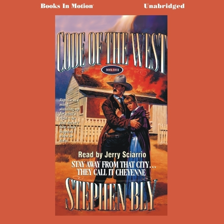 Printable Stay Away from that City…They Call it Cheyenne Audiobook Cover Art
