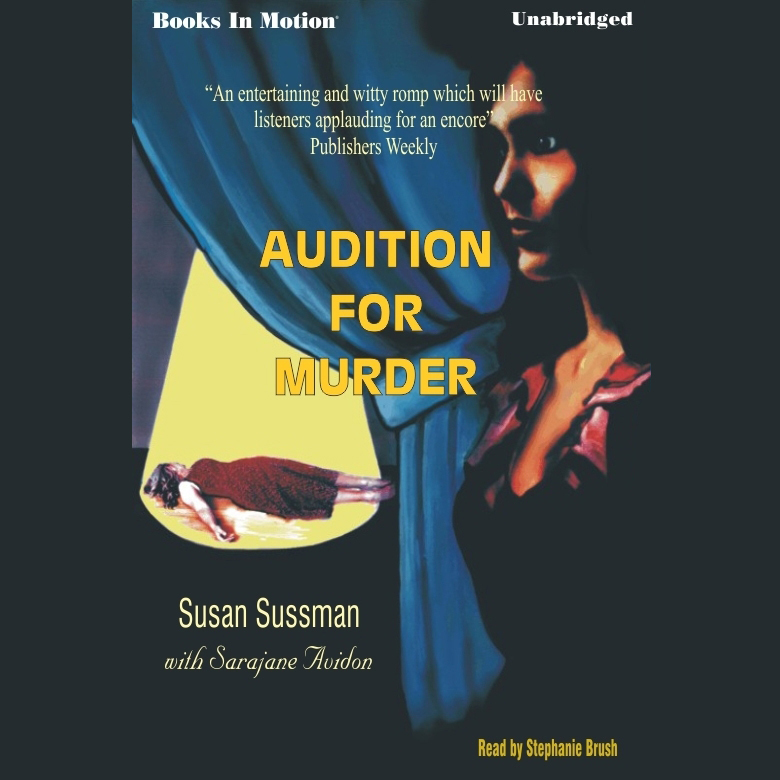 Printable Audition for Murder Audiobook Cover Art