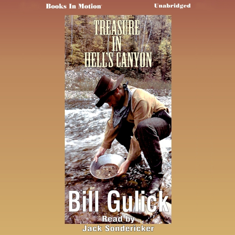 Printable Treasure in Hell's Canyon Audiobook Cover Art