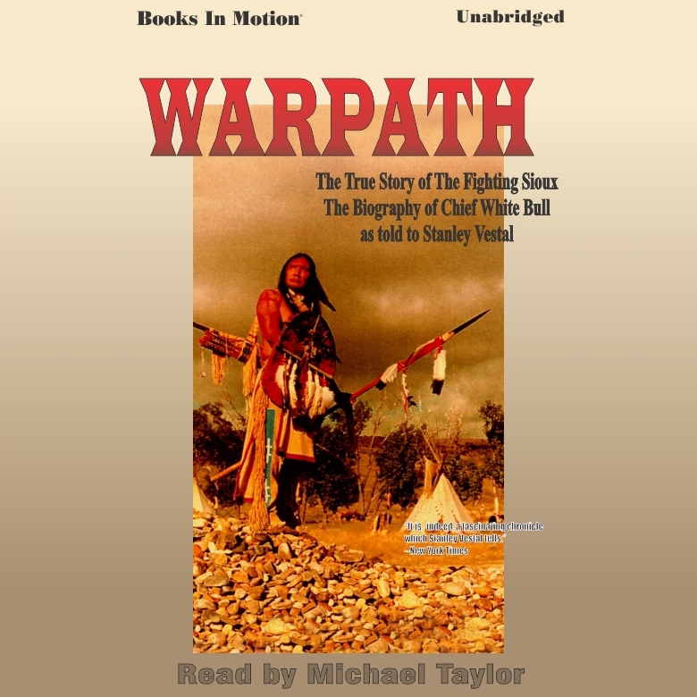 Printable Warpath Audiobook Cover Art