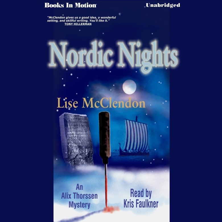 Printable Nordic Nights Audiobook Cover Art