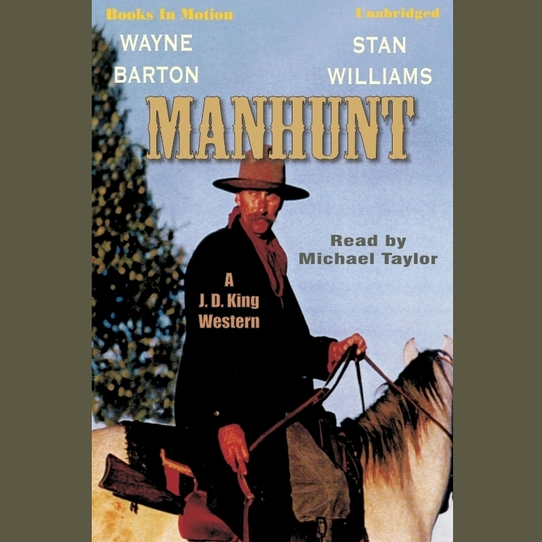 Printable Manhunt Audiobook Cover Art