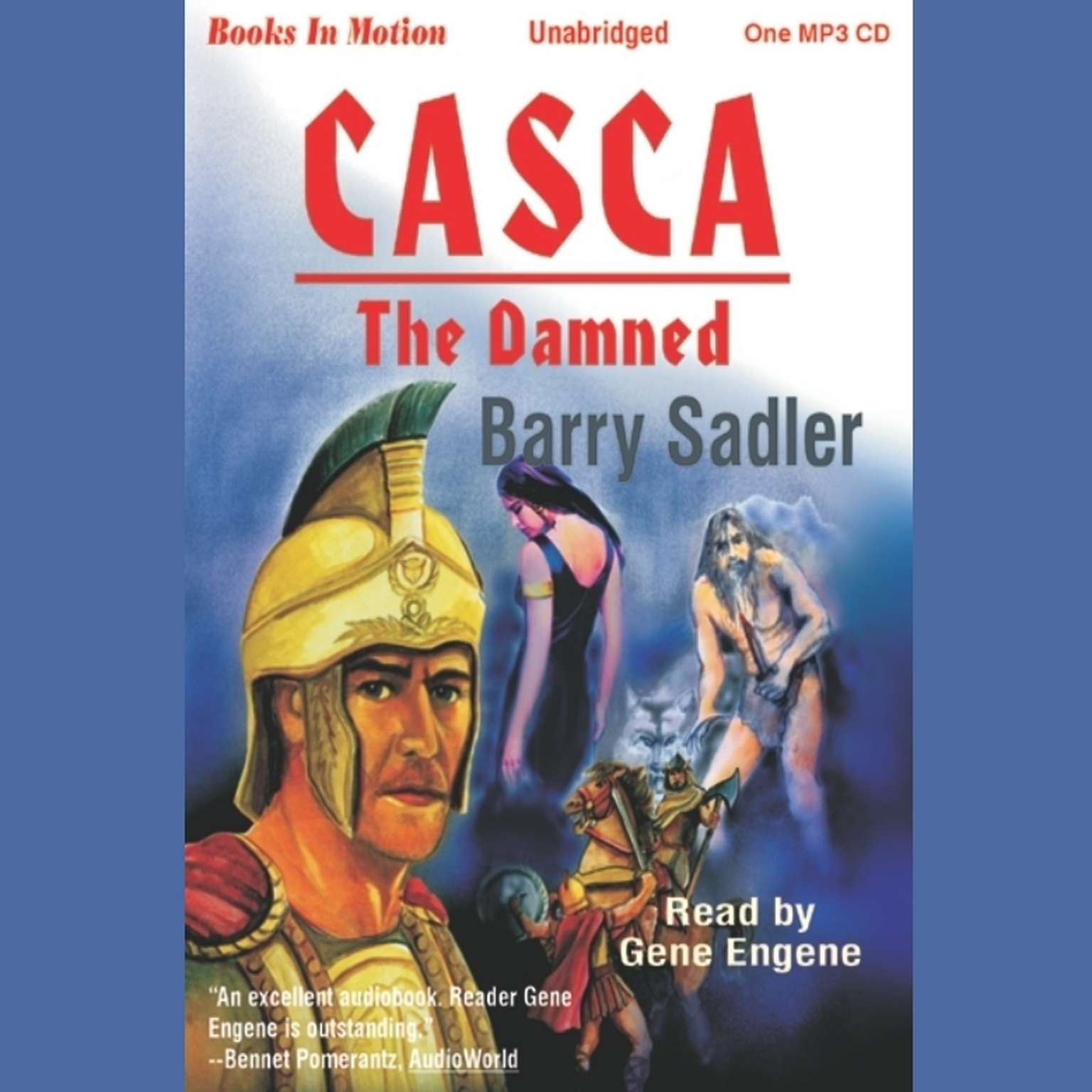 The Damned Audiobook, by Barry Sadler
