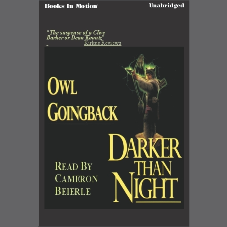 Printable Darker Than Night Audiobook Cover Art