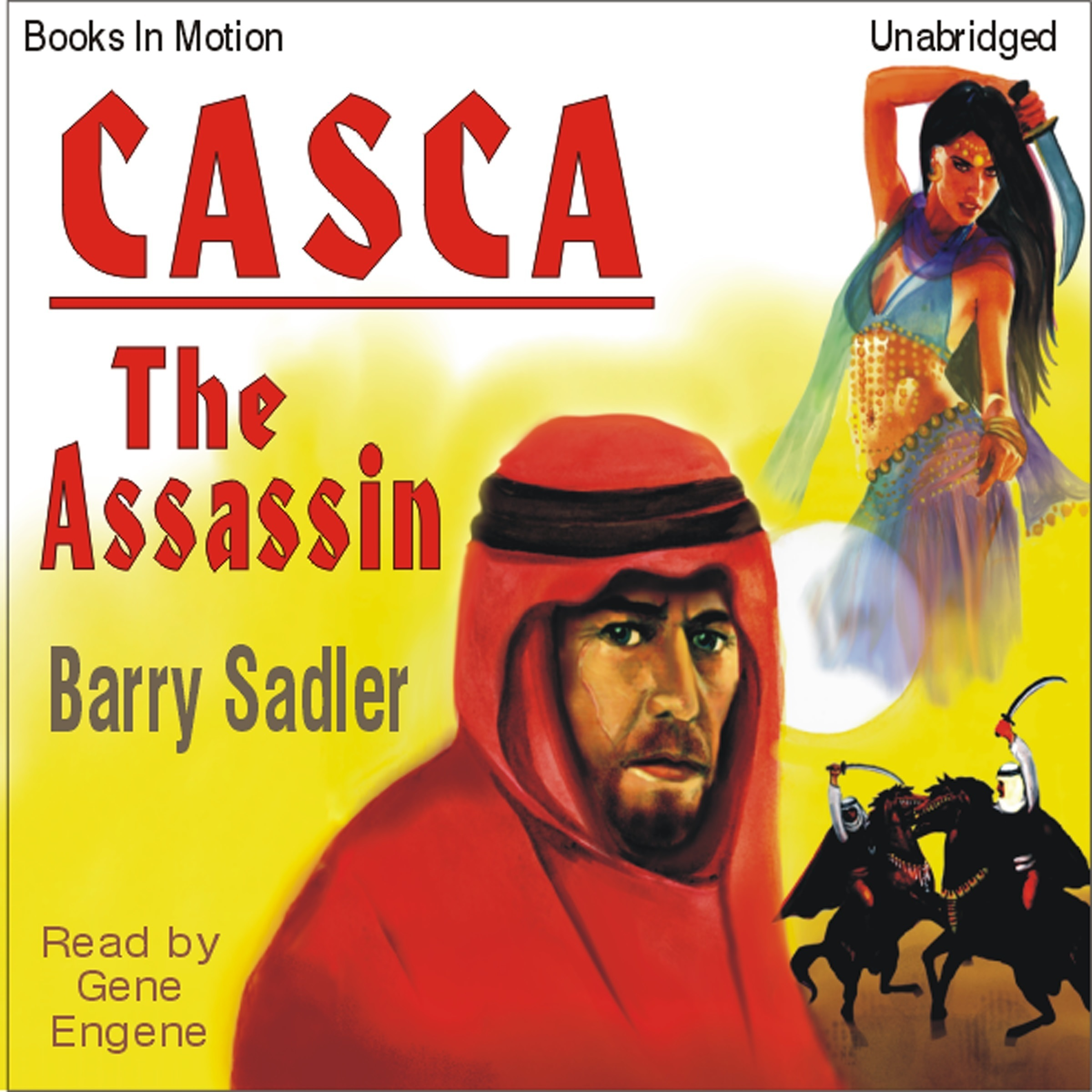 Printable Casca- The Assassin Audiobook Cover Art