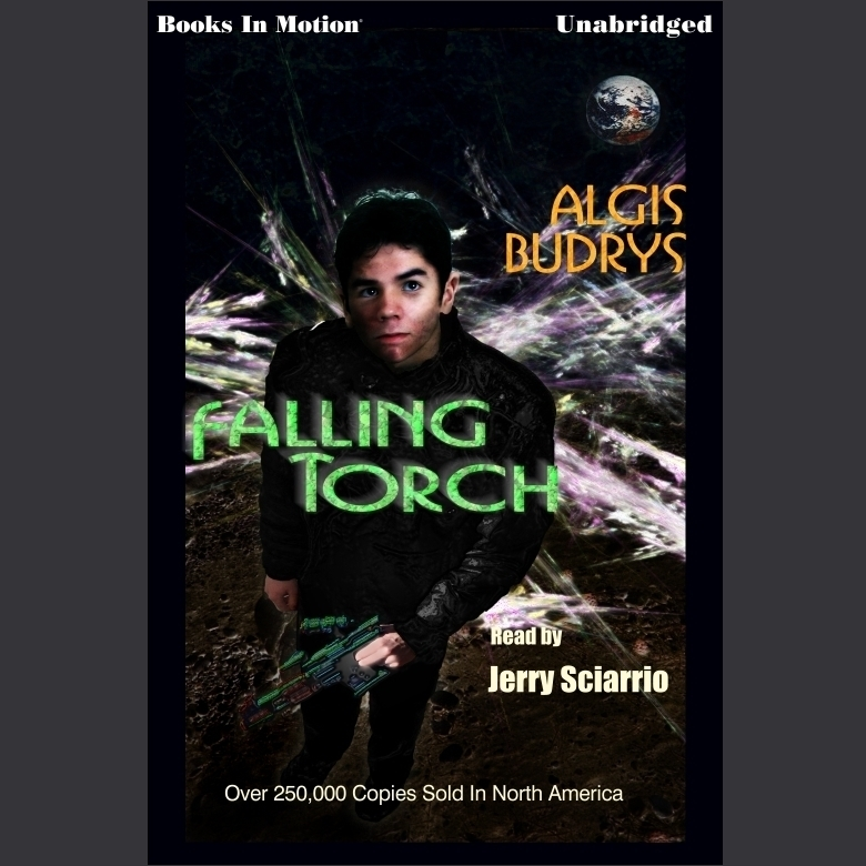 Printable Falling Torch Audiobook Cover Art