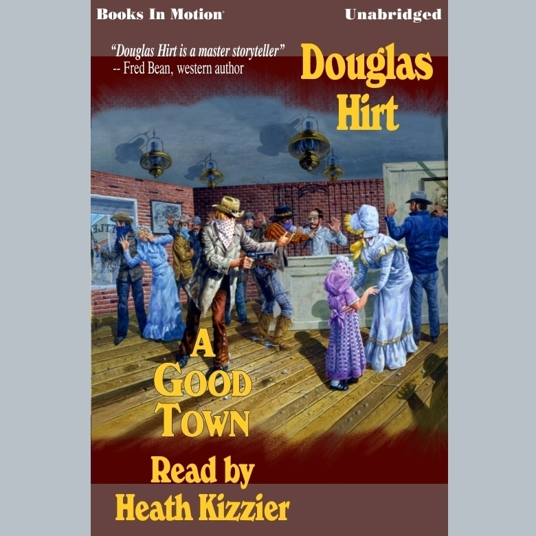 Printable A Good Town Audiobook Cover Art