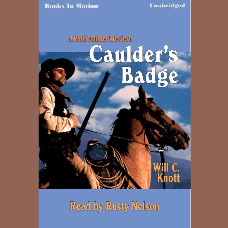 Printable Caulder's Badge Audiobook Cover Art