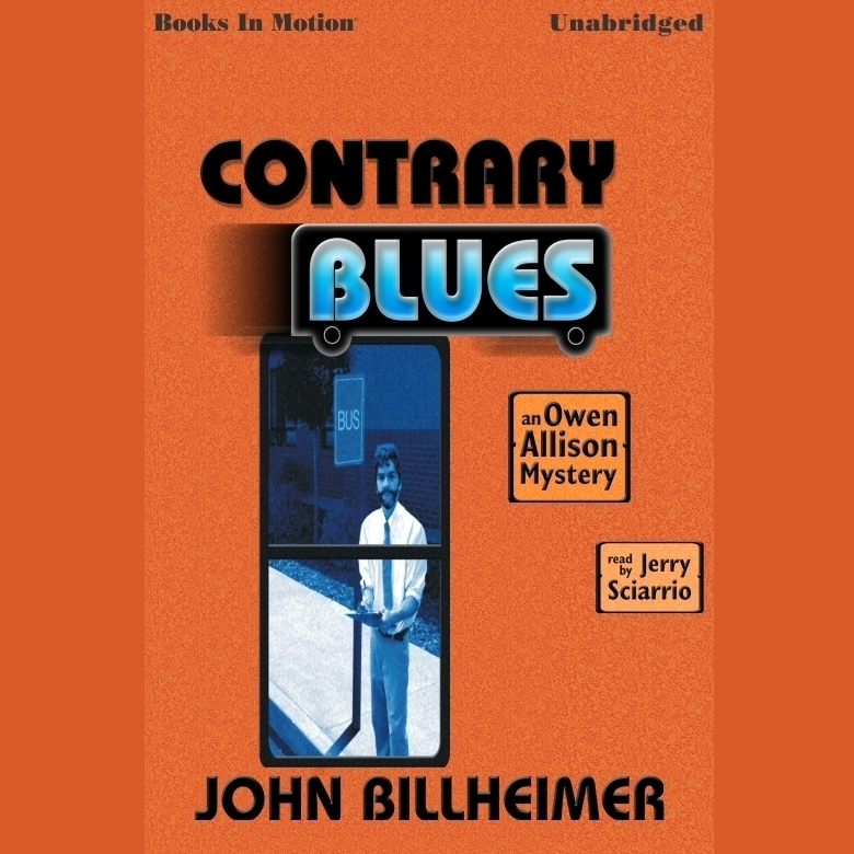Printable The Contrary Blues Audiobook Cover Art