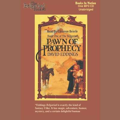 Pawn of Prophecy Audiobook, by David Eddings