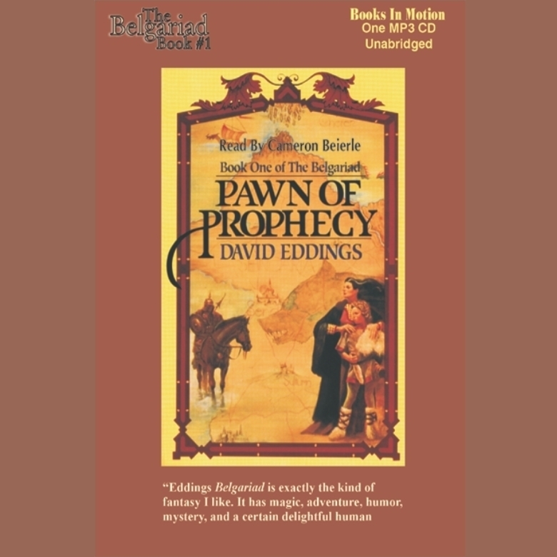 Printable Pawn of Prophecy Audiobook Cover Art