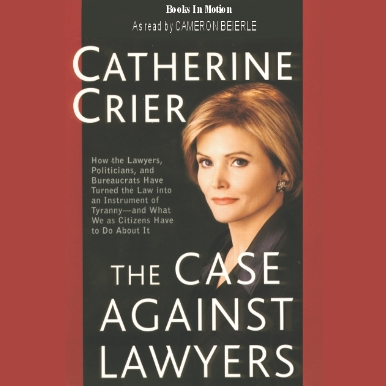 Printable The Case Against Lawyers Audiobook Cover Art