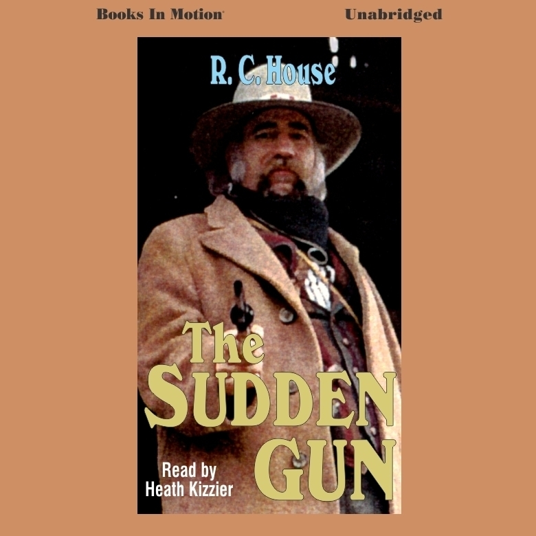 Printable Sudden Gun Audiobook Cover Art