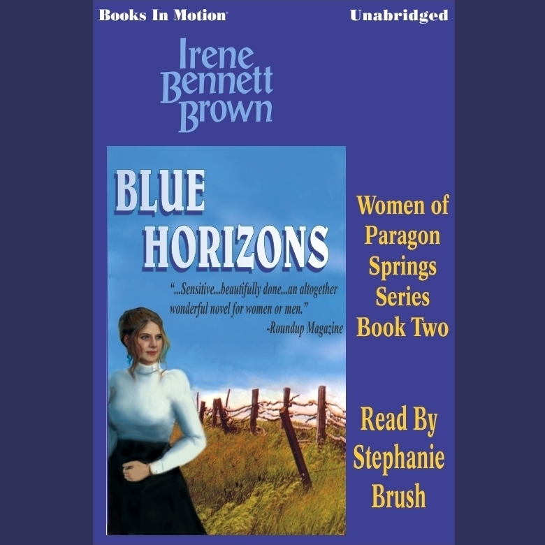 Printable Blue Horizons Audiobook Cover Art