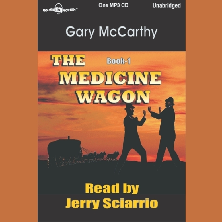 Printable The Medicine Wagon Audiobook Cover Art