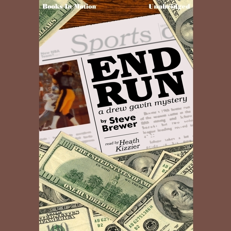Printable End Run Audiobook Cover Art