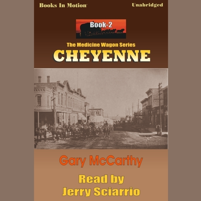 Printable Cheyenne Audiobook Cover Art