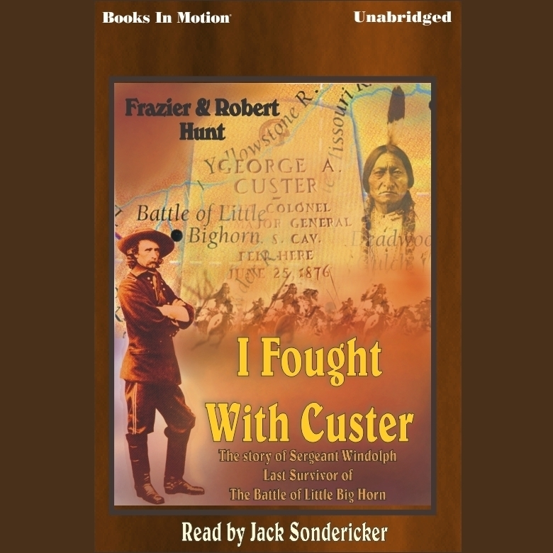 Printable I Fought with Custer Audiobook Cover Art