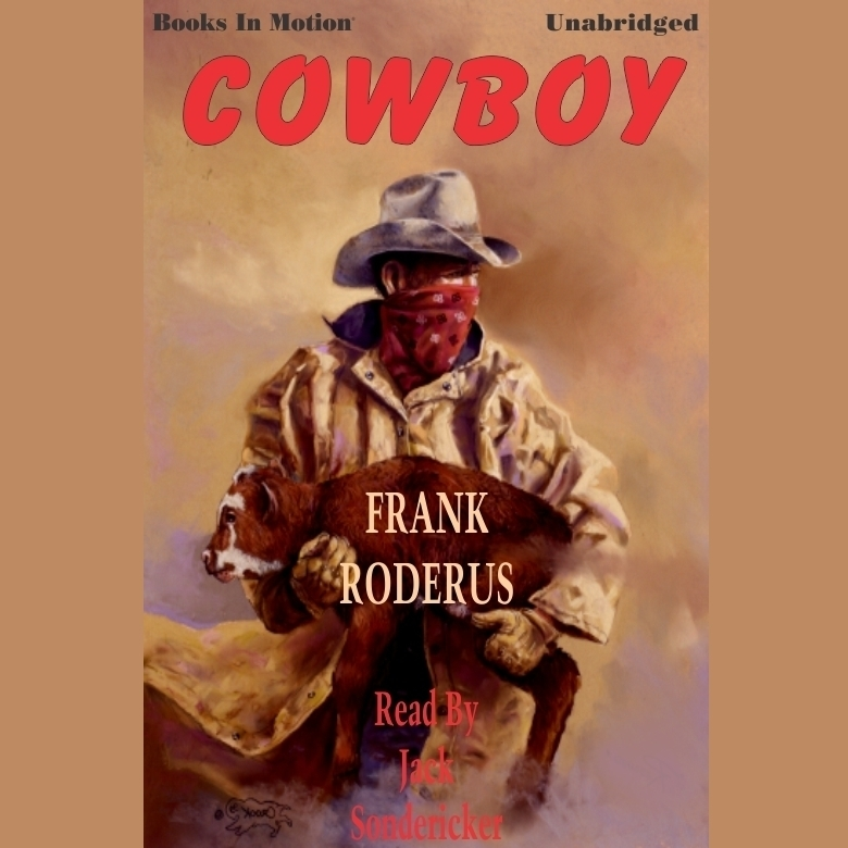 Printable Cowboy Audiobook Cover Art