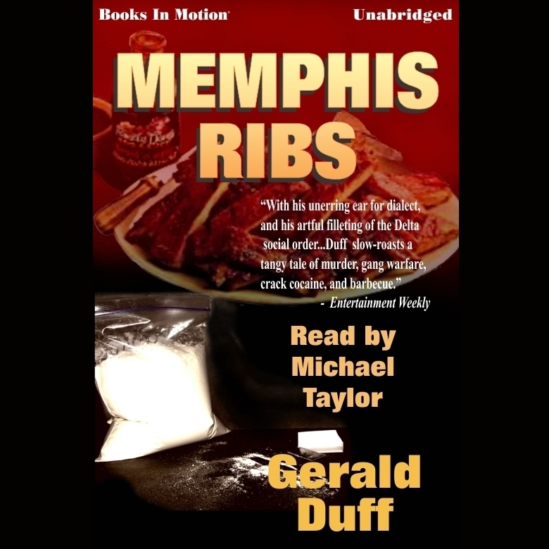 Printable Memphis Ribs Audiobook Cover Art