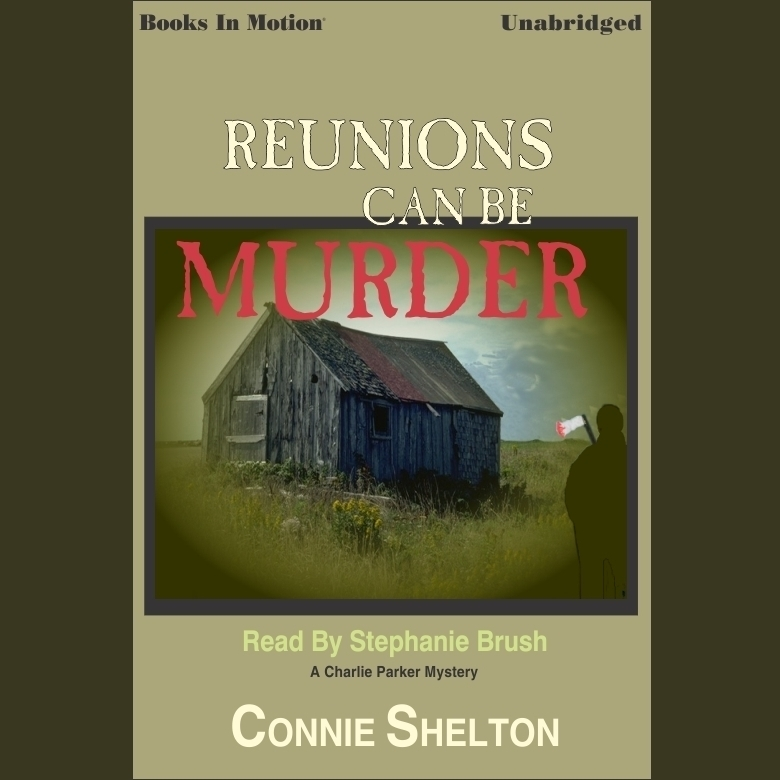 Printable Reunions can be Murder Audiobook Cover Art
