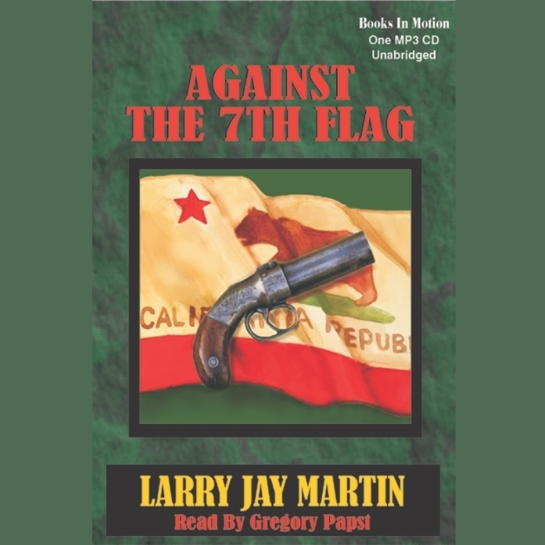Printable Against the 7th Flag Audiobook Cover Art