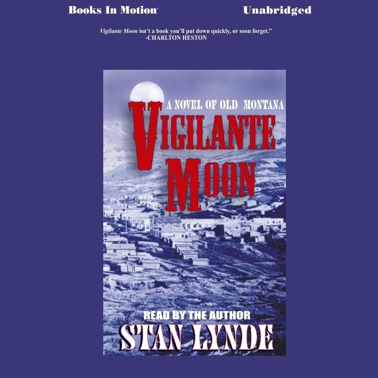 Printable Vigilante Moon Audiobook Cover Art
