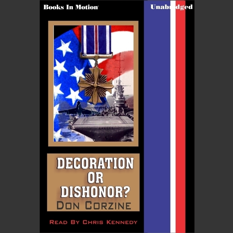 Printable Decoration or Dishonor Audiobook Cover Art
