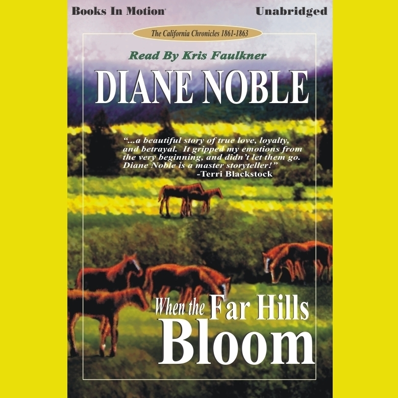 Printable When the Far Hills Bloom Audiobook Cover Art