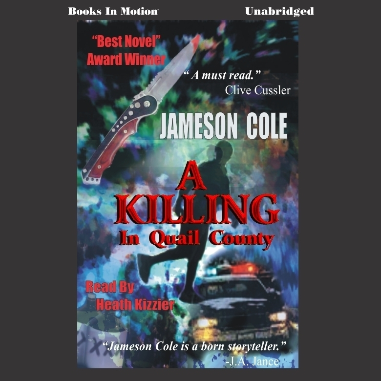 Printable A Killing in Quail County Audiobook Cover Art