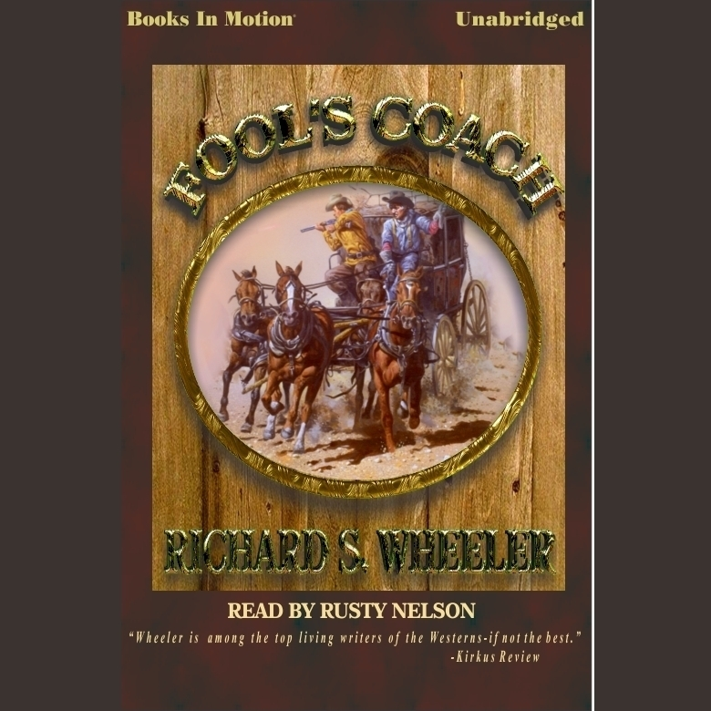 Printable Fool's Coach Audiobook Cover Art