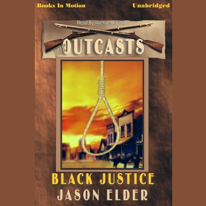 Printable Black Justice Audiobook Cover Art