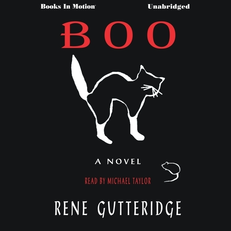 Printable Boo Audiobook Cover Art