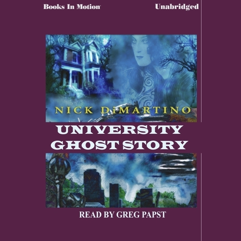 Printable University Ghost Story Audiobook Cover Art