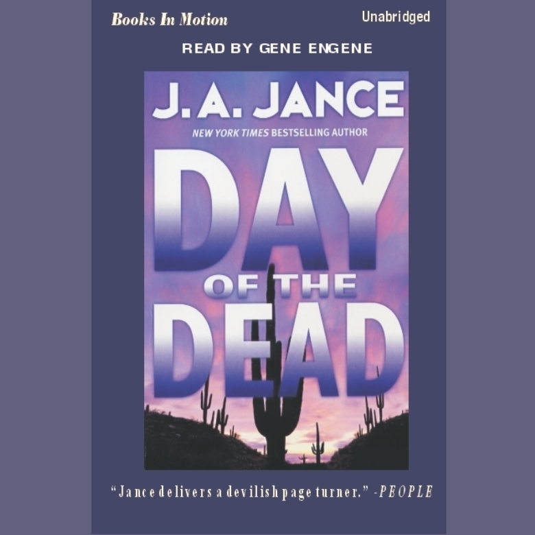 Printable Day of the Dead Audiobook Cover Art