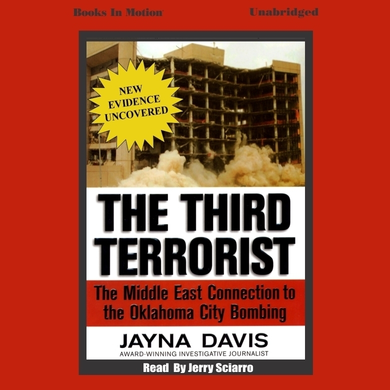 Printable The Third Terrorist Audiobook Cover Art