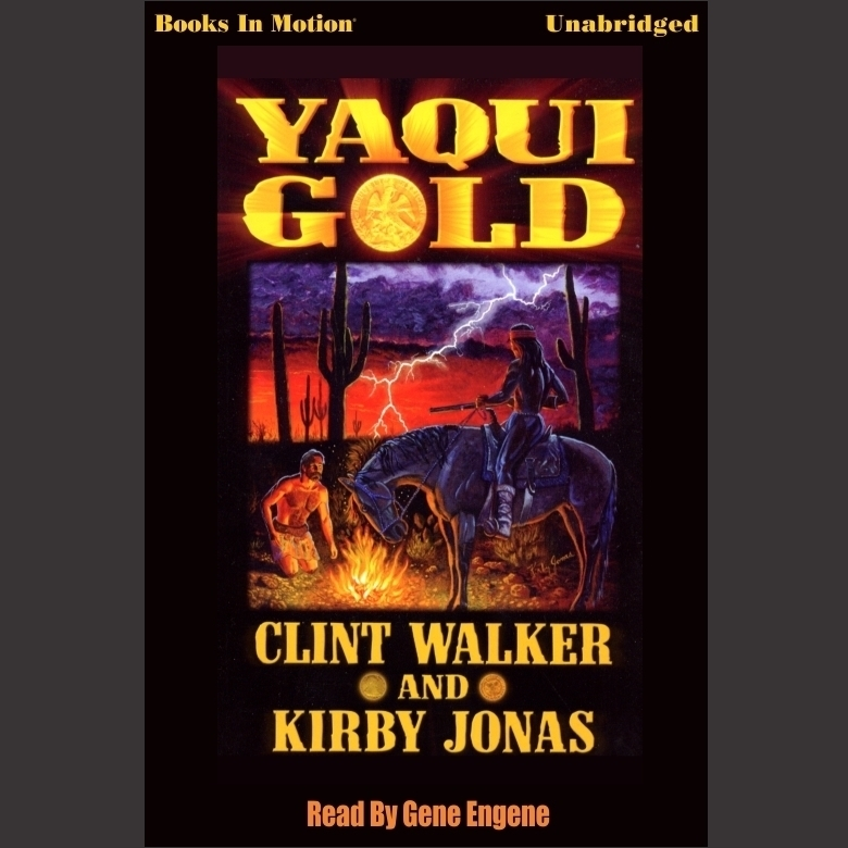Printable Yaqui Gold Audiobook Cover Art