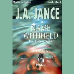 Name Withheld Audiobook, by J. A. Jance