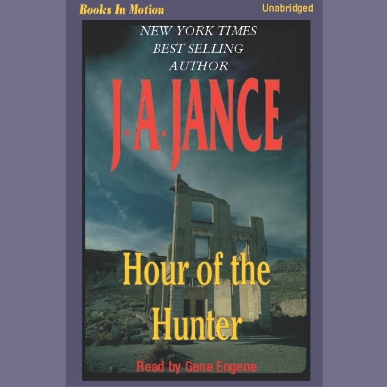 Printable Hour of the Hunter Audiobook Cover Art