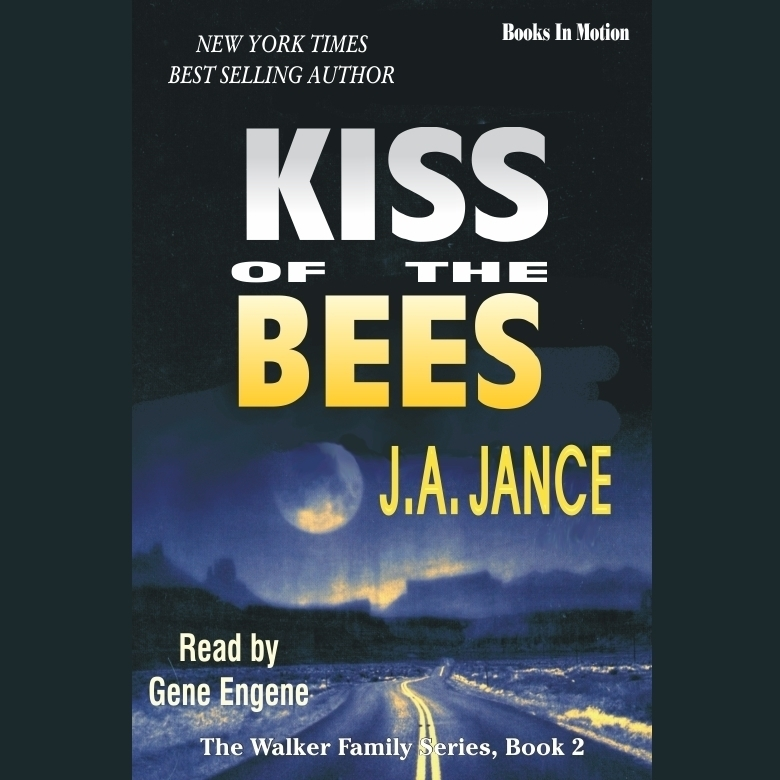 Printable Kiss of the Bees Audiobook Cover Art