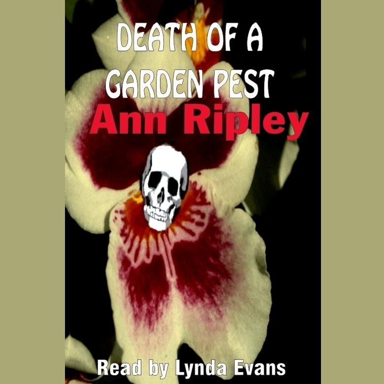 Printable Death of a Garden Pest Audiobook Cover Art