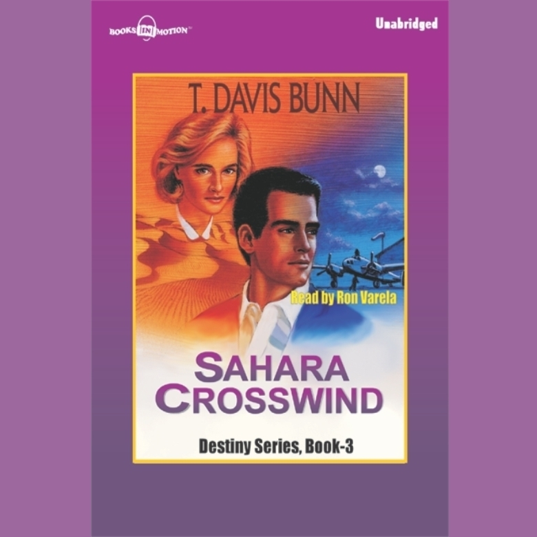 Printable Sahara Crosswind Audiobook Cover Art